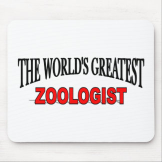 The World's Greatest Zoologist Mouse Pad