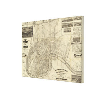 The World's Industrial Canvas Print