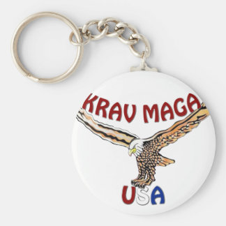 The World's Krav Maga USA Eagle Keychains