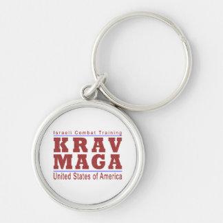 The World's Krav Maga USA Keychains