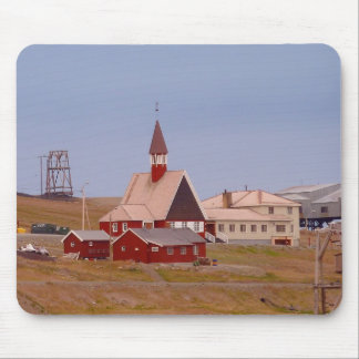 The world's northernmost church mouse pad