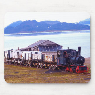 The world's northernmost train mouse pad