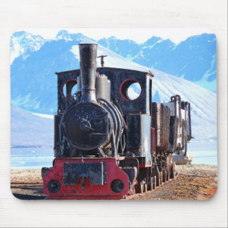 The world's northernmost train, Svalbard Mouse Pad