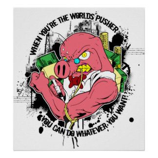 The World's Pusher Poster