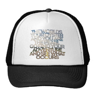 The World's Your Oyster Trucker Hat