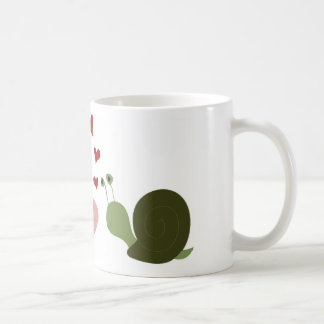 The worm and the snail mugs