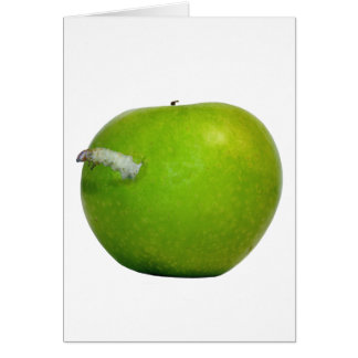 The worm in the apple card