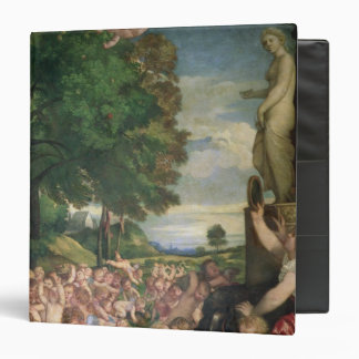 The Worship of Venus, 1519 3 Ring Binder