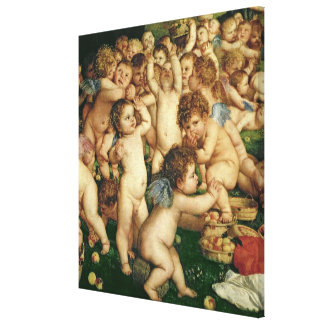 The Worship of Venus, 1519 Canvas Print