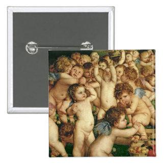 The Worship of Venus, 1519 Pinback Button