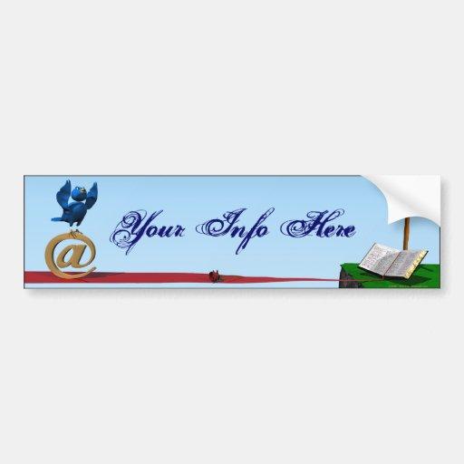 The Worshiper Bumper Sticker
