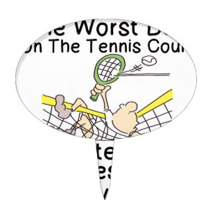 Tennis Court Cake Toppers Zazzle