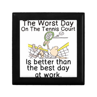 THE WORST DAY ON TENNIS COURT - BETTER THAN WORK GIFT BOX