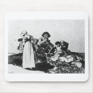 The worst is to beg by Francisco Goya Mouse Pad