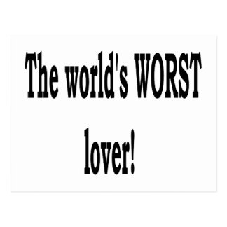 The Worst Lover Postcard