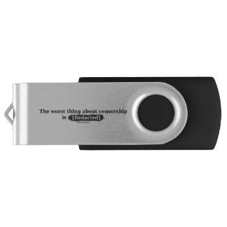 The Worst Thing About Censorship - USB Drive