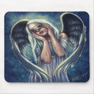 The Wounded Angel Mousepad