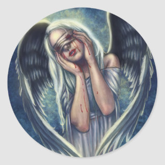 The Wounded Angel Sticker