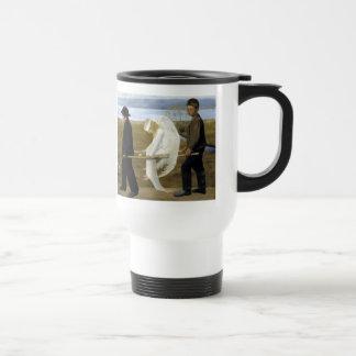 The Wounded Angel Travel Mug