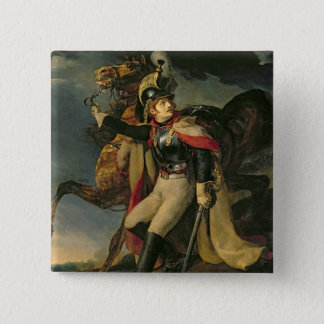 The Wounded Cuirassier, 1814 Button
