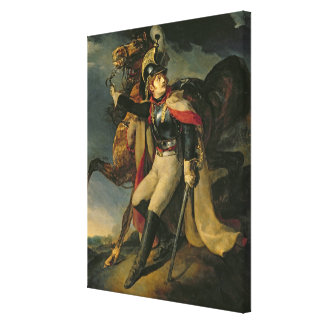 The Wounded Cuirassier, 1814 Canvas Print