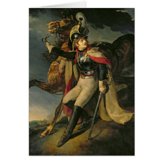 The Wounded Cuirassier, 1814 Card