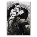 The Wounded Vampire- Wilhelm Kotarbinski Greeting Card