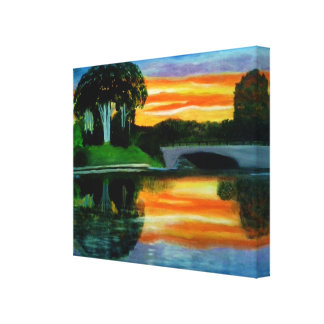 THE WOW FACTOR SUNSET canvas