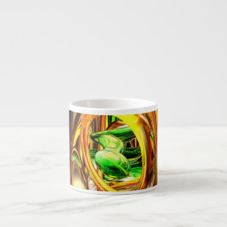 The Wraith Abstract Espresso Cup