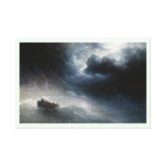 The Wrath of the Seas Ivan Aivazovsky seascape Gallery Wrap Canvas