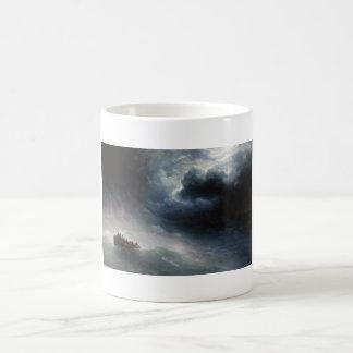 The Wrath of the Seas Ivan Aivazovsky seascape Coffee Mug