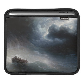 The Wrath of the Seas Ivan Aivazovsky seascape Sleeves For iPads