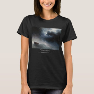 The Wrath of the Seas Ivan Aivazovsky seascape T-Shirt