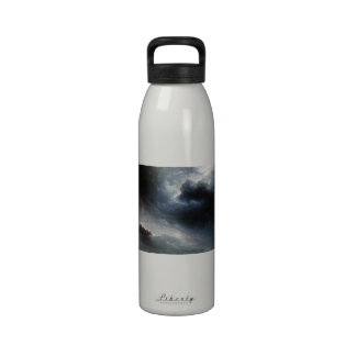 The Wrath of the Seas Ivan Aivazovsky seascape Water Bottle