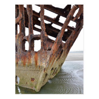 The Wreck of Peter Iredale Postcard