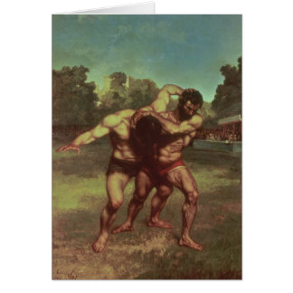 The Wrestlers, 1853 Card