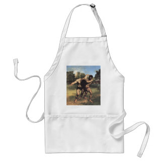 The Wrestlers Adult Apron