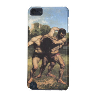 The Wrestlers by Gustave Courbet iPod Touch (5th Generation) Cover