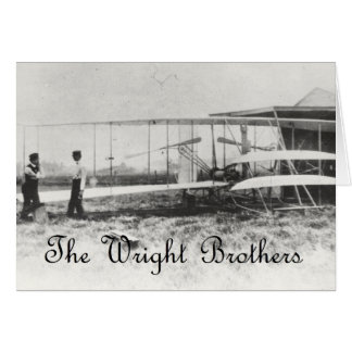 The Wright Brothers Greeting Card