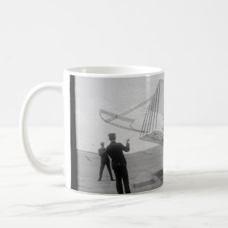 The Wright Brothers test flight Coffee Mug