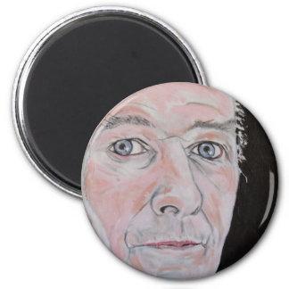 The Writer 2 Inch Round Magnet