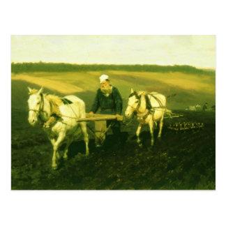 The writer Lev Nikolaevich Tolstoy Postcard