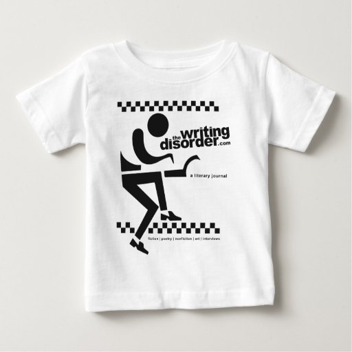 The Writing Disorder Infant T-shirt