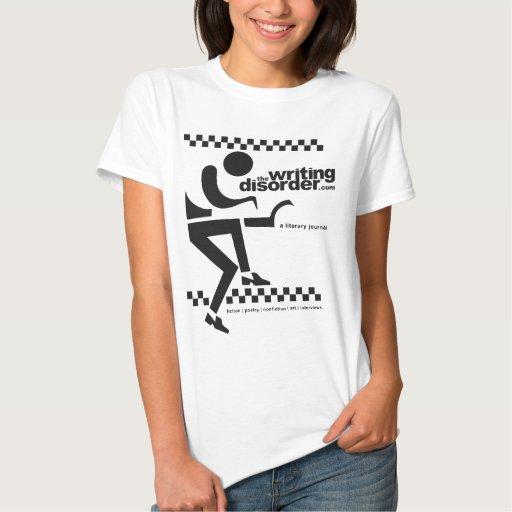 The Writing Disorder Tshirt