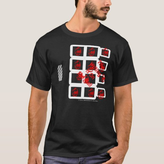 The Writing is on the Wall by Grassrootsdesigns4u T-Shirt