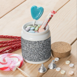 THE WRITING ON THE WALL: GRANITE - (fine grain) ~~ Candy Jar