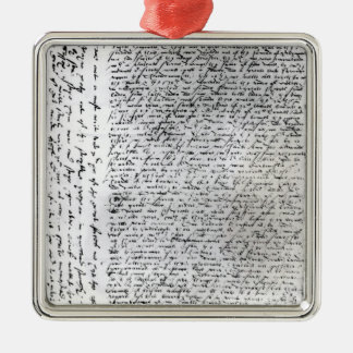 The written dispatches of Sir Francis Drake Metal Ornament