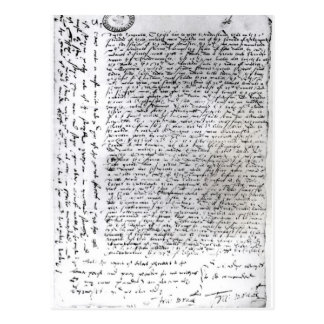 The written dispatches of Sir Francis Drake Post Card