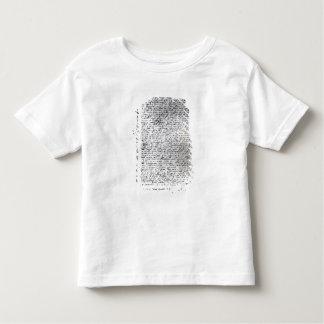 The written dispatches of Sir Francis Drake Toddler T-shirt