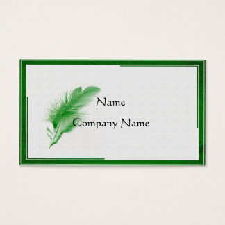 The Written Word Business Card